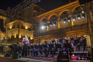 la agrupación de Big Band de la Escuela Municipal de Música en directo en la Plaza Vieja, no te lo puedes perder. 7 de junio de 2019